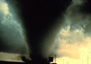 The Dimmit, TX tornado in 1995
