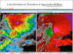 May 3, 1999 NEXRAD radar image