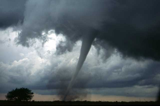 Bild Tornado, NOAA