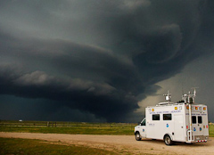 NSSL Field Command Vehicle in the field