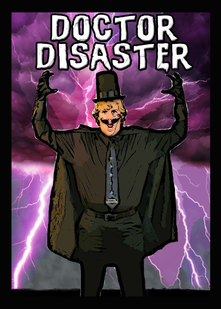 Dr. Disaster card front
