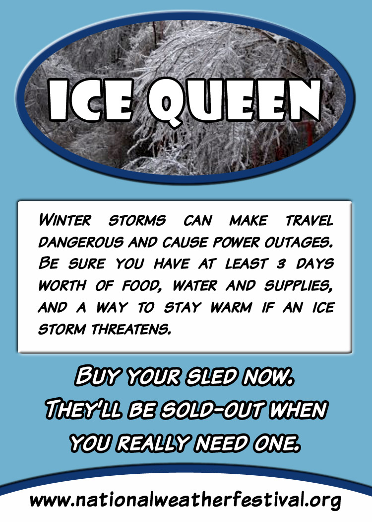 Ice Queen card back