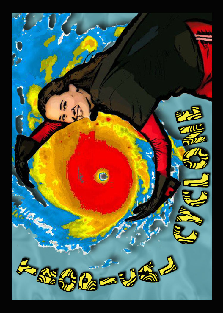 Tropical Cyclone card front