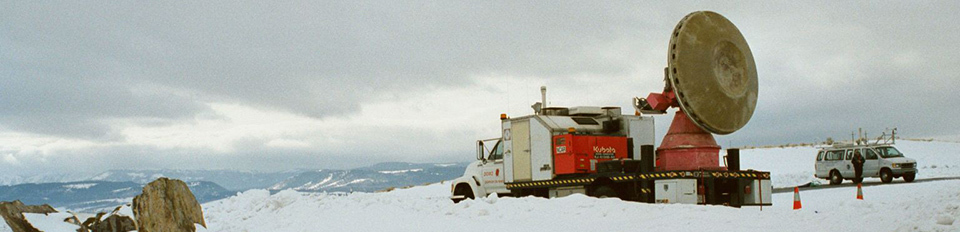 DOW mobile radar during IPEX