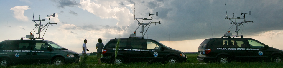 Meteorologist Kurt Hondl at work at NSSL