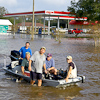 Photo of flood, courtesy FEMA