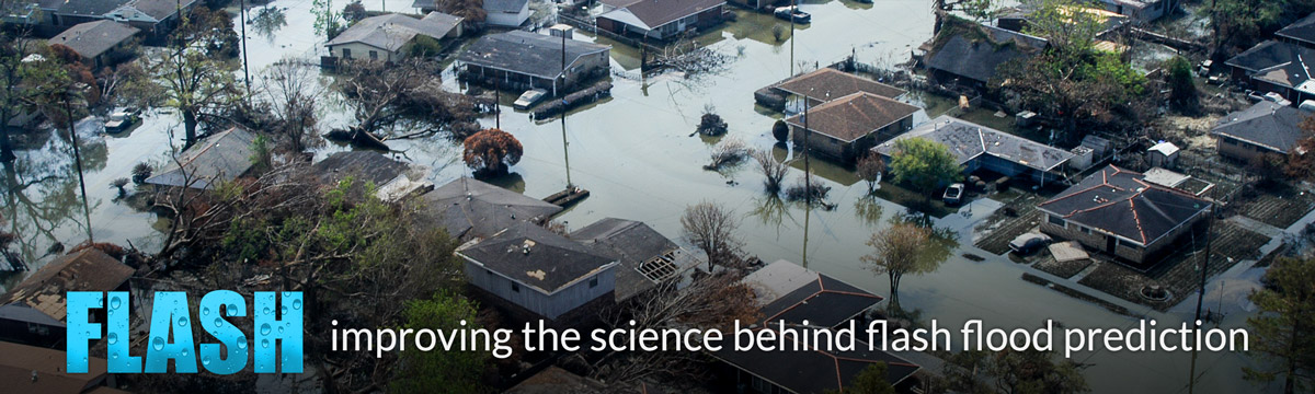 FLASH: Improving the science behind flash flood prediction