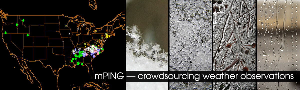 mPING: Crowdsourcing weather observations