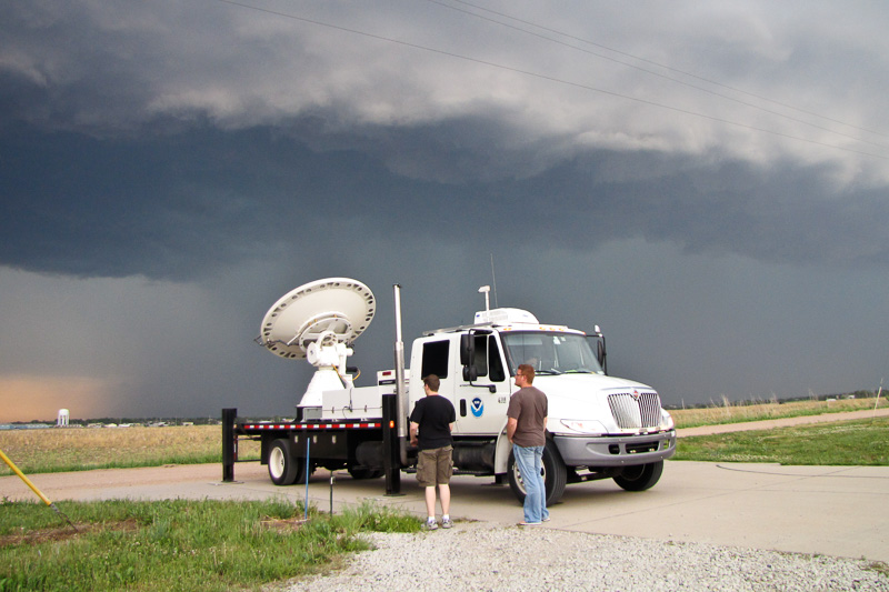 Researchers and NOXP mobile radar