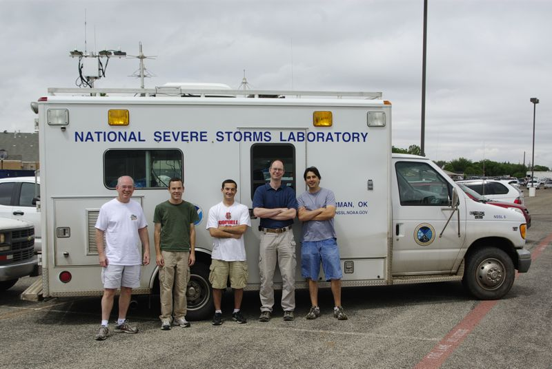NSSL crew in the field