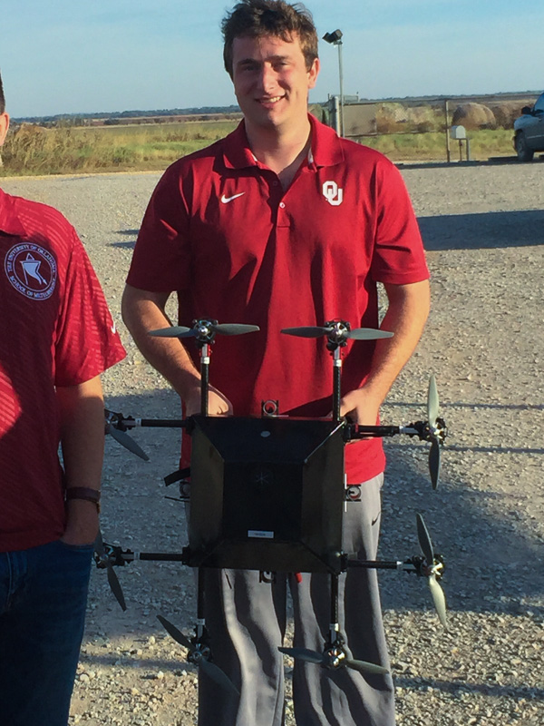 The University of Oklahoma's CopterSonde rotary UAS