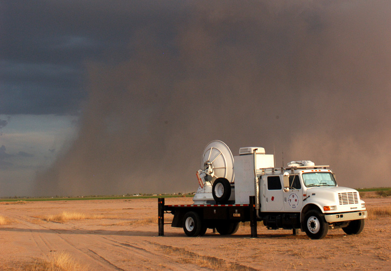 NSSL mobile radar in Arizona