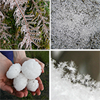 Forms of frozen precipitation