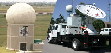Phased Array Radar and SMART Radar vehicle