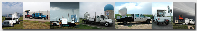 Mobile radar photographs