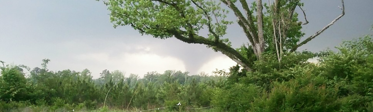 tornado in Mississippi