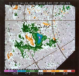 Doppler Radar and Weather Observations Color Plate 3