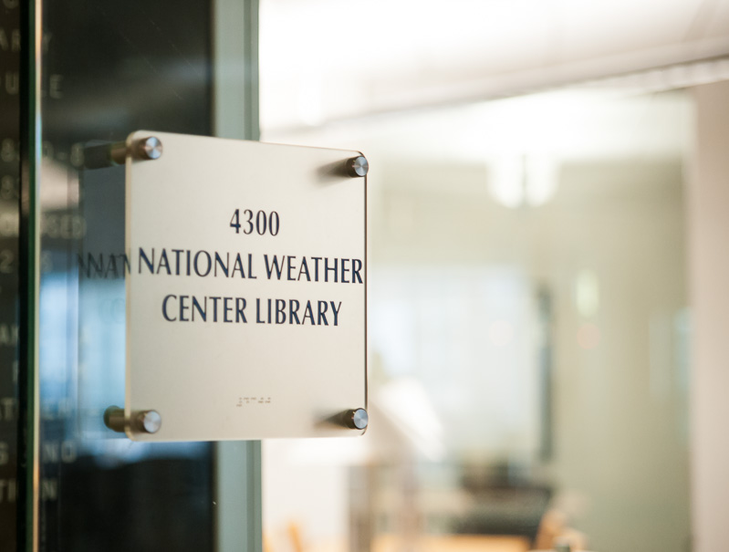 National Weather Center Library