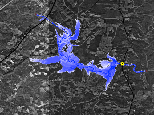 CI-FLOW inundation map