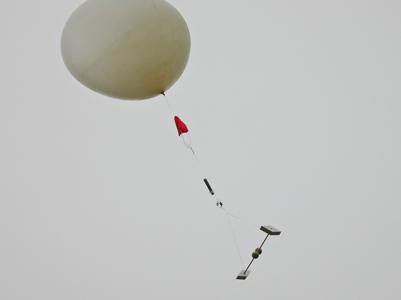 Weather balloon instrument package