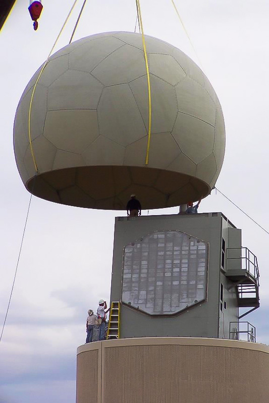 Phased Array Radar installation